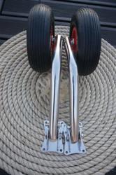 Стандартные транцевые шасси для лодок с жестким дном длиной от 3м 50 см Арт.0111